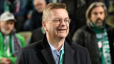 Reinhard Grindel wünscht sich einen versöhnlichen Nations-League-Abschluss
