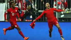 Thiago Alcántara celebra un tanto a la Juve la pasada temporada. (Foto: Getty)