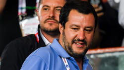Italiens Innenminister Matteo Salvini kritisiert das Finale im Ausland