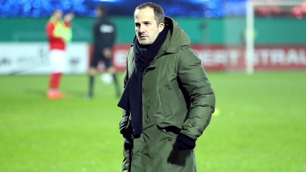 Manuel Baum glaubt weiter fest an seine Mannschaft
