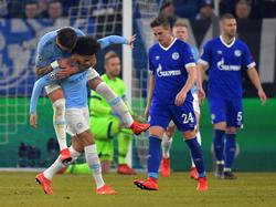 Sané marcó un golazo de tiro libre directo. (Foto: Getty)