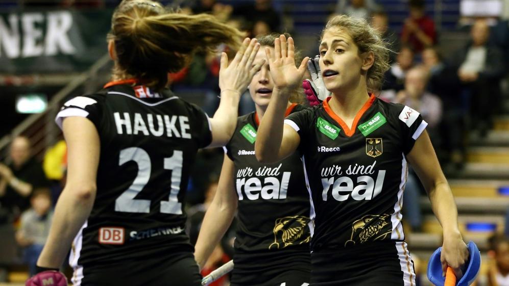 Deutsche Hockey-Frauen treffen am Mittwoch auf Großbritannien