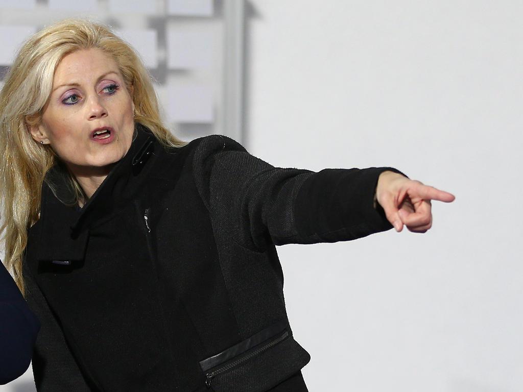 Wiener Neustadts Präsidentin Katja Putzenlechner ist not amused