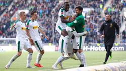 Borussia Mönchengladbach steht aktuell auf dem begehrten vierten Platz