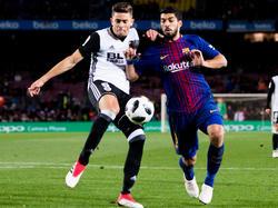 Luis Suárez no estará en la final de la Copa del Rey contra el Valencia. (Foto: Getty)