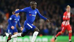 Der Einsatz von N'Golo Kanté im Europa-League-Endspiel ist fraglich
