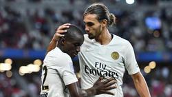 Moussa Diaby (l.) steht vor einem Wechsel nach Leverkusen
