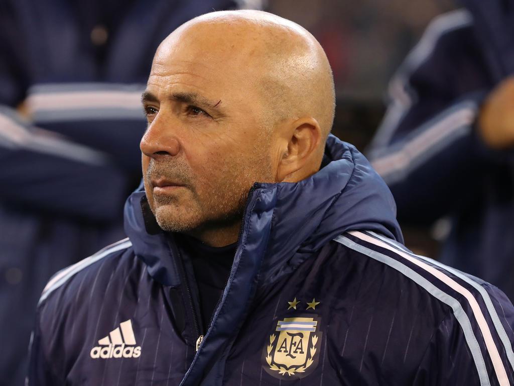 Argentinien hat unter Jorge Sampaoli 6:0 gegen Singapur gewonnen