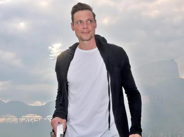 Roman Kienast beim Abschied von Sturm Graz
