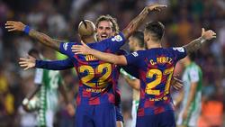 Der FC Barcelona ist nach einem Rückstand eindrucksvoll zurückgekommen