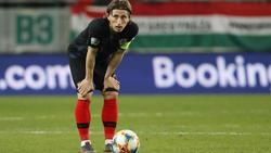 Luka Modric hizo el 0-1 desde los once metros.