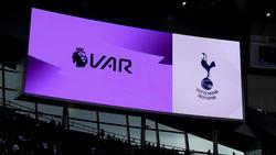 Imagen del marcador electrónico del Tottenham Hotspur Stadium.