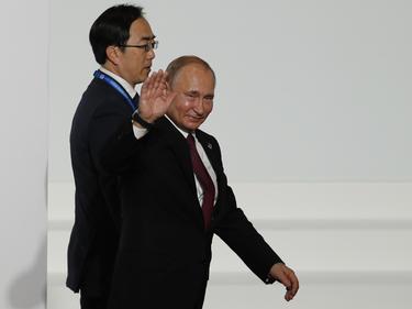 Putin saluda en una imagen de archivo.