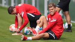 Florian Niederlechner gelobt Besserung