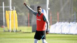 Freut sich auf das Hertha-Gastspiel in Frankfurt: Kevin-Prince Boateng