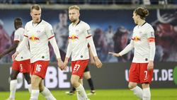 Das Leipziger Trio steht Julian Nagelsmann gegen Gladbach zur Verfügung