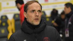 PSG-Coach Thomas Tuchel muss vor dem Duell mit dem BVB um seine Stars bangen