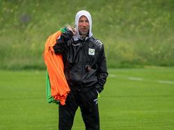 Lustenau-Coach Roman Mählich