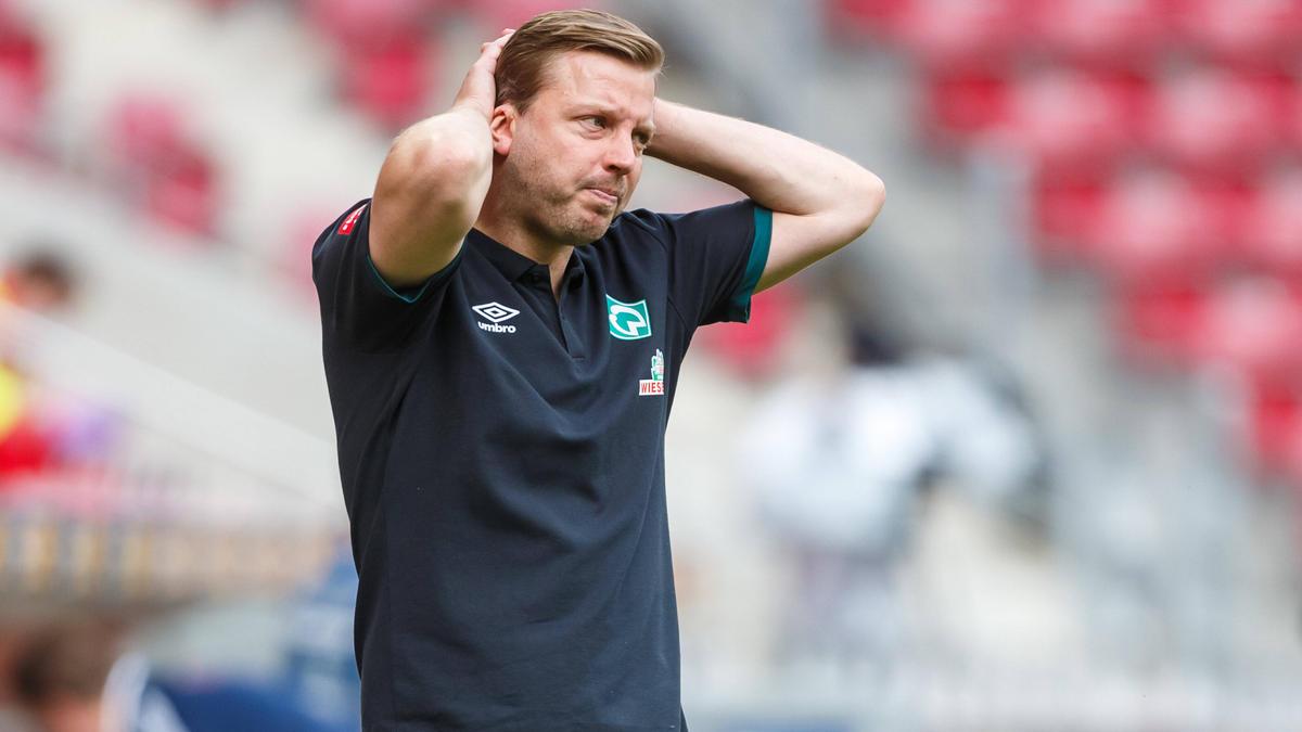 Florian Kohfeldt war nach der Werder-Pleite am Boden zerstört