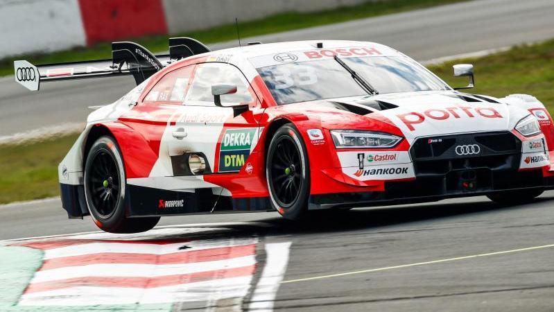 Fuhr in Zolder den vierten Sieg in Serie ein: Audi-Pilot René Rast