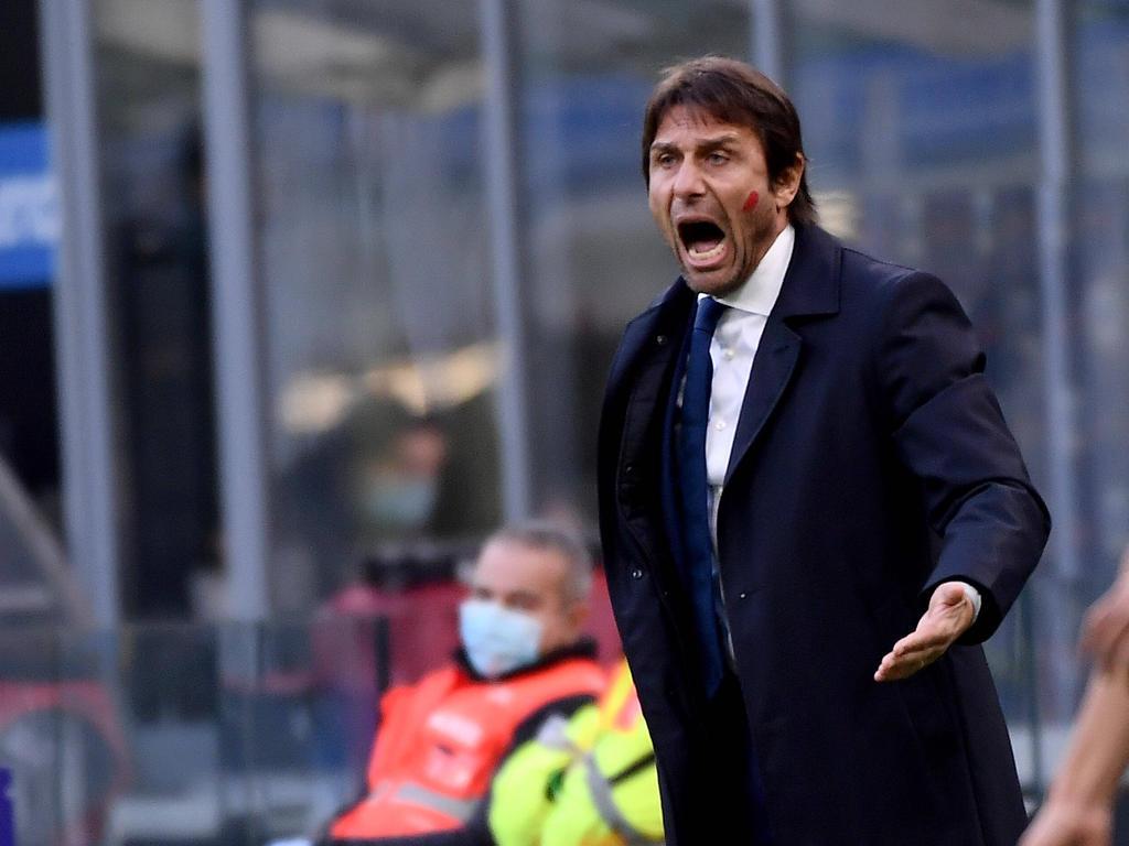 Antonio Conte sueña con pasar de ronda con el Inter.