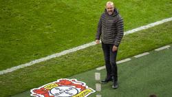 Peter Bosz und seine Leverkusener mussten sich dem FC Bayern knapp geschlagen geben