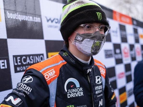 Mit 19 Jahren fährt Oliver Solberg seinen ersten WM-Lauf mit einem WRC-Auto