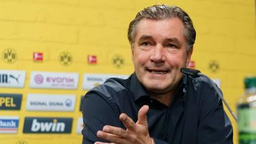 Sportdirektor Michael Zorc nimmt die BVB-Profis in die Pflicht