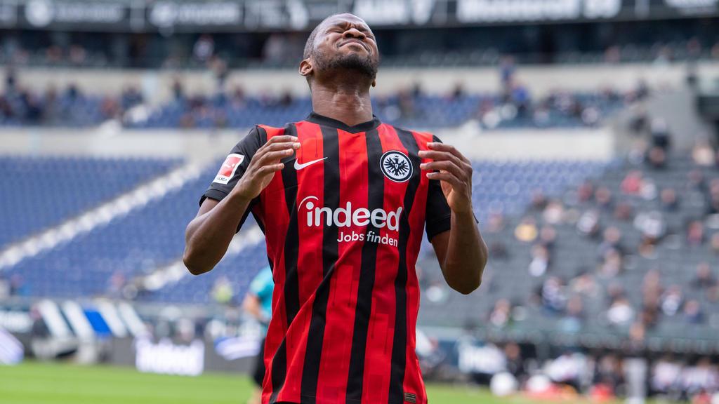Almamy Touré fehlt Eintracht Frankfurt verletzungsbedingt