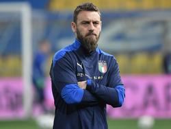 Daniele De Rossi con la selección italiana.