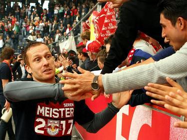 Christian Schwegler verabschiedete sich 2017 als Meister aus Salzburg