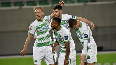 Julian Green (v.) steht bei Fürth bereits seit 2017 unter Vertrag