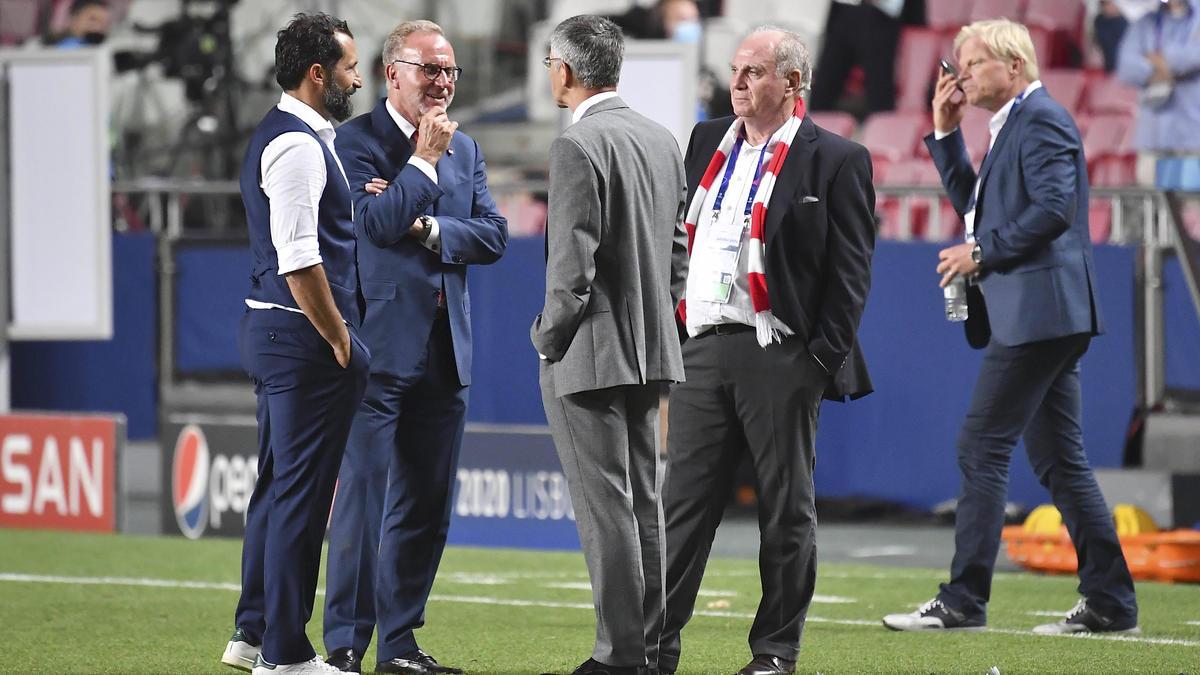 Die Bosse des FC Bayern nahmen bei ihrer Trainersuche mehrere Kandidaten ins Visier