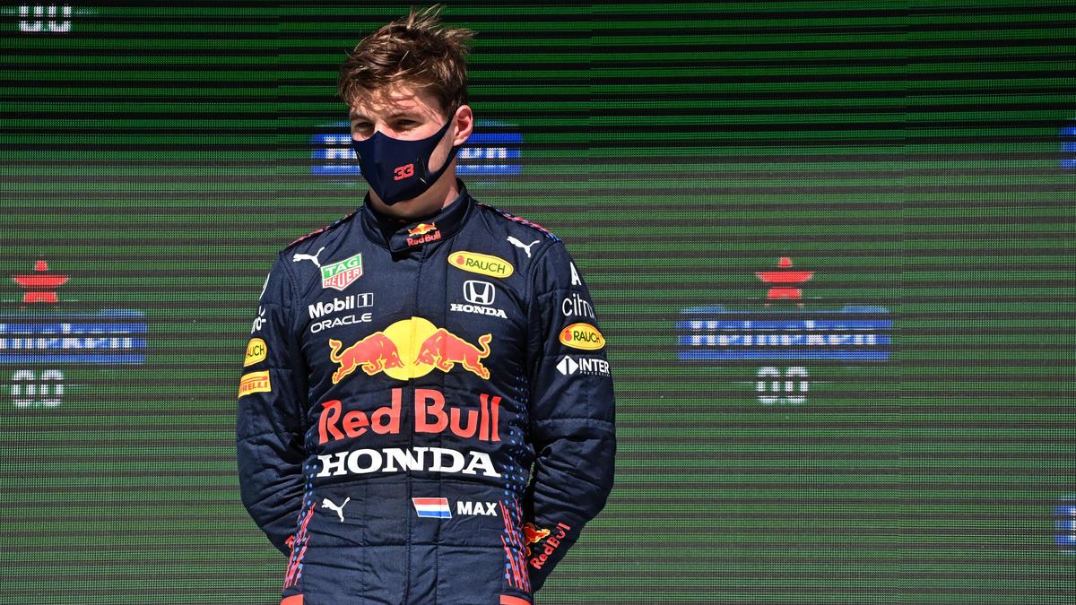Obwohl das Wochenende nicht gut war, wurde Max Verstappen Zweiter