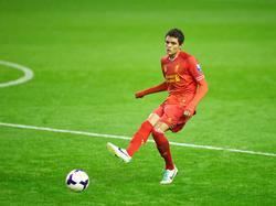 Thiago Ilori bei  Liverpools Reservemannschaft