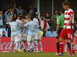 Iago Aspas bringt Celta gegen Granada in Führung
