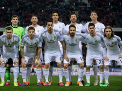 Die Startelf von Real im Rückspiel des Copa del Rey Halbfinals