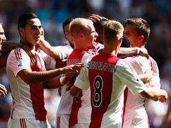 Der AFC Ajax führt wieder die Tabelle an.