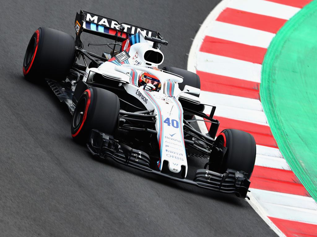 Robert Kubica absolvierte Testfahrten für Williams