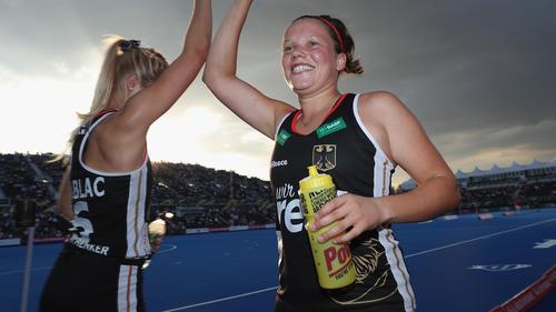 Charlotte Stapenhorst (r.) gehörte in der Vorrunde zu den herausragenden Spielerinnen