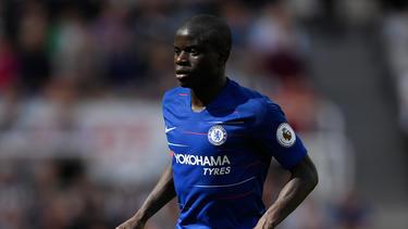 N'Golo Kanté steht noch beim FC Chelsea unter Vertrag