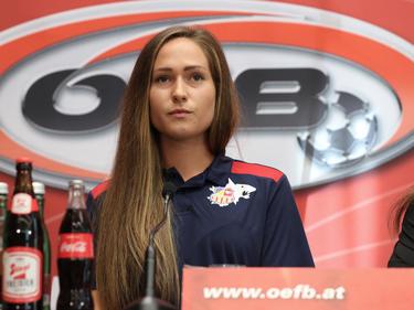 Jasmin Eder spielt mit den SKN Frauen um den Titel