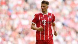 Lukas Mai gab im April sein Profi-Debüt beim FC Bayern