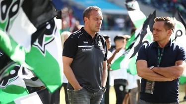 André Breitenreiter ist seit 2017 Trainer bei Hannover 96