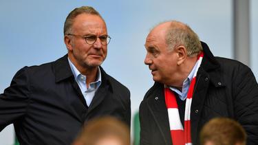 Karl-Heinz Rummenigge (li.) und Uli Hoeneß führen den FC Bayern München