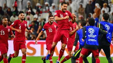 Katar bezwang den Gastgeber deutlich