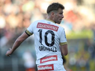 Mit dem Zehner am Rücken gab Austria-Kapitän Alex Grünwald am Sonntag in Wolfsberg eine Art Libero