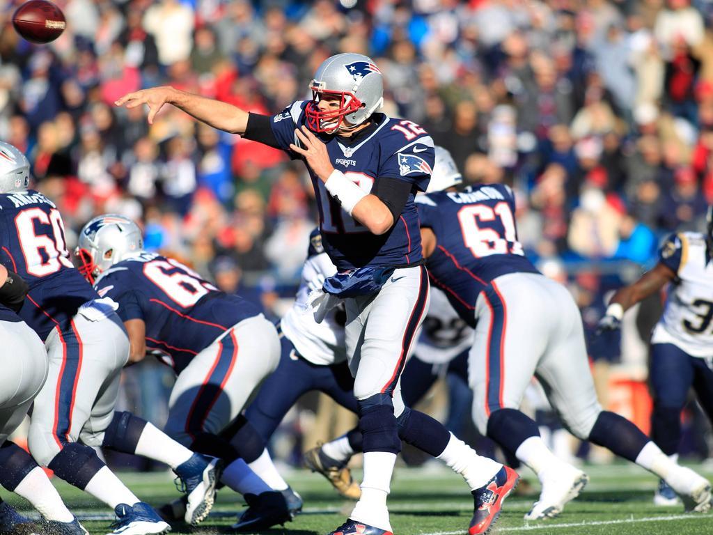 Brady und seine Patriots waren erneut gut aufgelegt