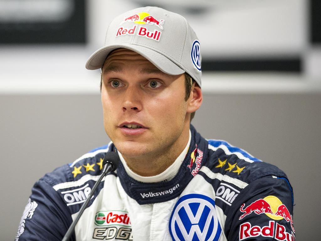 Zum ersten Mal sitzt Andreas Mikkelsen am Steuer des Citroen C3 WRC