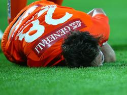 Christoph Martschinko bei seiner folgenschweren Verletzung